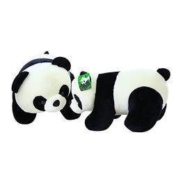 Cute Plush Stuffed Animal Doll Push Pull Panda Bear Plush Pi