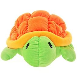"15"" Cute Pumpkin Orange Tortoise/Sea Turtle Plush Toy Soft S"