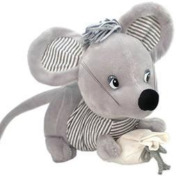 42cm Cute Rat Plush Toy Soft Stuffed Animal Doll Xmas Christ