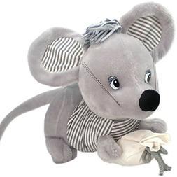 26cm Cute Rat Plush Toy Soft Stuffed Animal Doll Xmas Christ