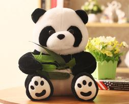 Cute Soft Plush Stuffed Panda Animal Doll Children's Toy Bir