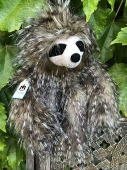 Jellycat Cyril Sloth Plush Stuffed Animal Furry!! NWT✔️