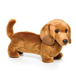 Demdaco 11.5 inch Dachshund Large Plush Toy