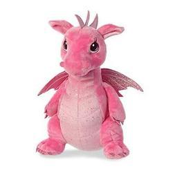 Dahlia Dragon 12 Inch  - Stuffed Animal by Aurora Plush