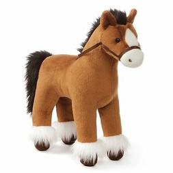 GUND Dakota Clydesdale Horse Standing Stuffed Animal Plush,