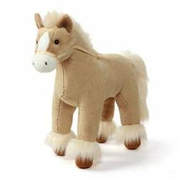 dakota clydesdale horse tan 15 inch plush