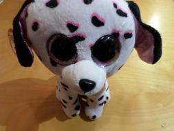 Dalmation dog Stuffed Animal - BIG EYES - NEW with Tag - TY