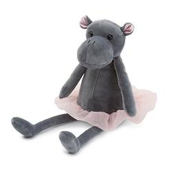 Jellycat Dancing Darcey Hippo Stuffed Animal, Small, 10 inch