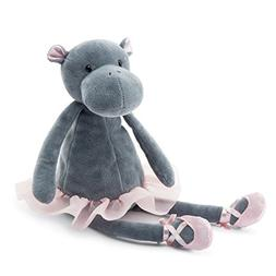 Jellycat Dancing Darcey Hippo, 13 inches