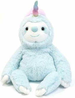 "Gund Dazzle Slothicorn Plush Stuffed Toy, 9"" New Fast Free S"