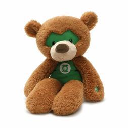 GUND DC Comics Fuzzy Green Lantern Teddy Bear Plush Stuffed