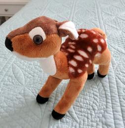 "Deer 9"" Wild Republic FAWN Soft Stuffed Animal Plush Clean"