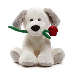 GUND Demarco Valentines Day Stuffed Animal Puppy Dog Plush,