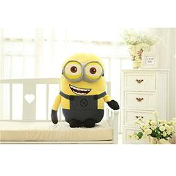 phpkim88 1pcs 60cm Despicable Me Double Eyes Minion Big Cute
