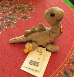 Steiff Dino Dinosaur Stuffed Animal Germany with All Tags