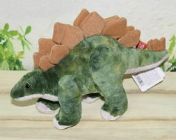 "Wild Republic Dinosauria Mini Stegosaurus 10"" Plush"