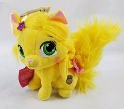 "Disney Princess Palace Pets Plush Rapunzel's Kitty Summer 5"""