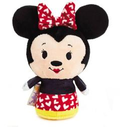 Hallmark Disney Red Heart Kiss Love Minnie Mouse Itty Bitty
