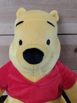 "Disney Winnie the POOH Bear Lg. 12"" Plush Stuffed Animal,"