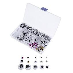Diy Craft Supplies - 1100pcs Mixed Googly Eyes 5 6 7 8 10 12