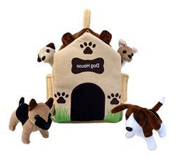 "ADORE 12"" Dog House Pet Puppy House Plush Stuffed Animal Pla"