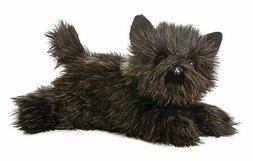 """Dog Plush Toto Cairn Terrier Black Flopsie 12"""""""