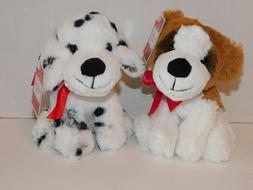 Dog Puppy Plush Stuffed Animals St. Bernard & Dalmatian Abou