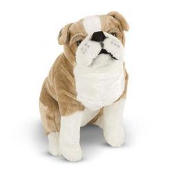 Dog Stuffed Animal English Bulldog Plush Giant Realistic Kid