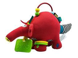 "Dolce Baby Aardvark Interactive Stuffed Animal Plush Toy 9"","