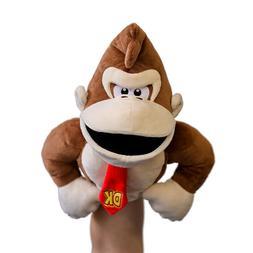 Donkey Kong Puppet Nintendo Plush Stuffed animal DK Super Ma