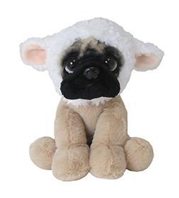 Doug The Pug Gentle Lamb Large Stuffed Animal, 10 Pug Lamb H