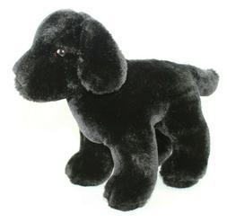 Douglas Cuddle Toy plush stuffed animal small puppy Black do