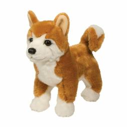 Douglas Dunham SHIBA INU Dog Plush Toy Stuffed Animal NEW