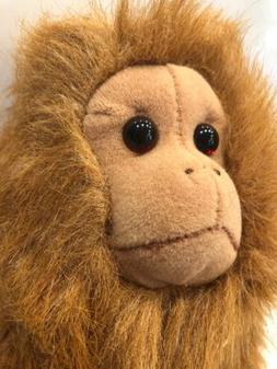 "Douglas MONKEY 7"" Sitting Plush 11"" Stuffed Animal Cuddle To"