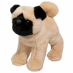 "Douglas Plush Bardo Pug Stuffed Animal 9"" Long"