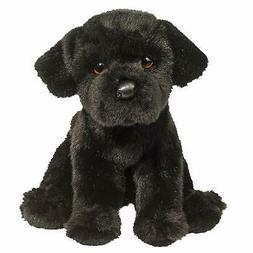 "Douglas Plush Whittaker Black Lab Stuffed Animal, 13"""