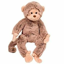 "Douglas Quentin Monkey Plush Stuffed Animal 11"" High Overall"