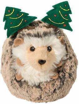 Douglas Spunky Holiday Hedgehog Plush Stuffed Animal with Tr