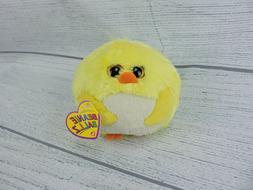 Ty Beanie Ballz Eggbert Yellow Chick