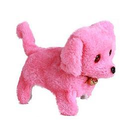 Electric Pets Stuffed Plush Dog Realistic Dancing Walking Ac
