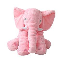UBAOXIN Elephant Plush Cushion Pillow Toy Extra Large 24 inc