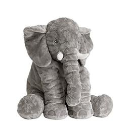 UBAOXIN Elephant Baby Stuff Plush Pillows Toys Soft and Huge
