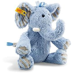 "Steiff Elephant 12"" Stuffed Animal - Soft And Cuddly Plush A"