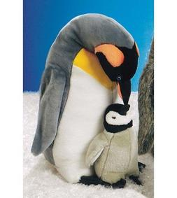 "Emperor Penguin Plush withBaby 14"" by Wild Republic"