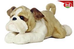 English Bulldog Stuffed Animal Kids Cute Puppy Soft Plush To