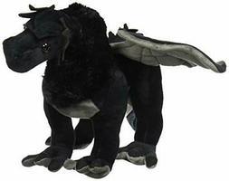 Fiesta Toys Exotic Dinosaur Plush-19 Black Dragon Animal