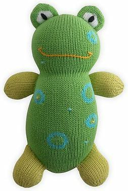 Joobles Fair Trade Organic Stuffed Animal - Flop the Frog