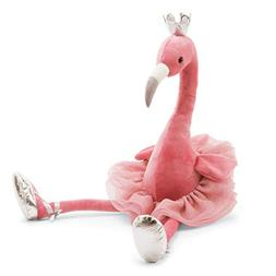 Jellycat Fancy Flamingo Stuffed Animal, Large, 23 inches