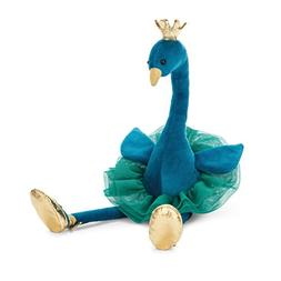 Jellycat Fancy Peacock Stuffed Animal, 15 inches