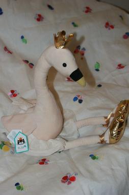 "Jellycat FANCY SWAN Plush Stuffed Animal, LARGE, 13""/23"" NWT"
